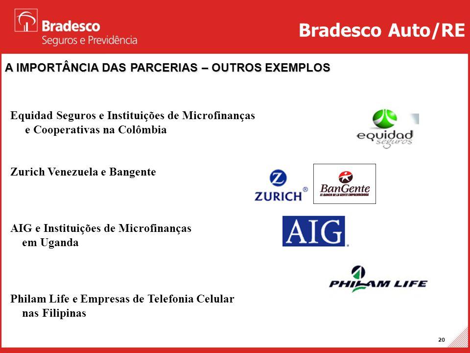 Bradesco Auto/RE A IMPORTÂNCIA DAS PARCERIAS – OUTROS EXEMPLOS