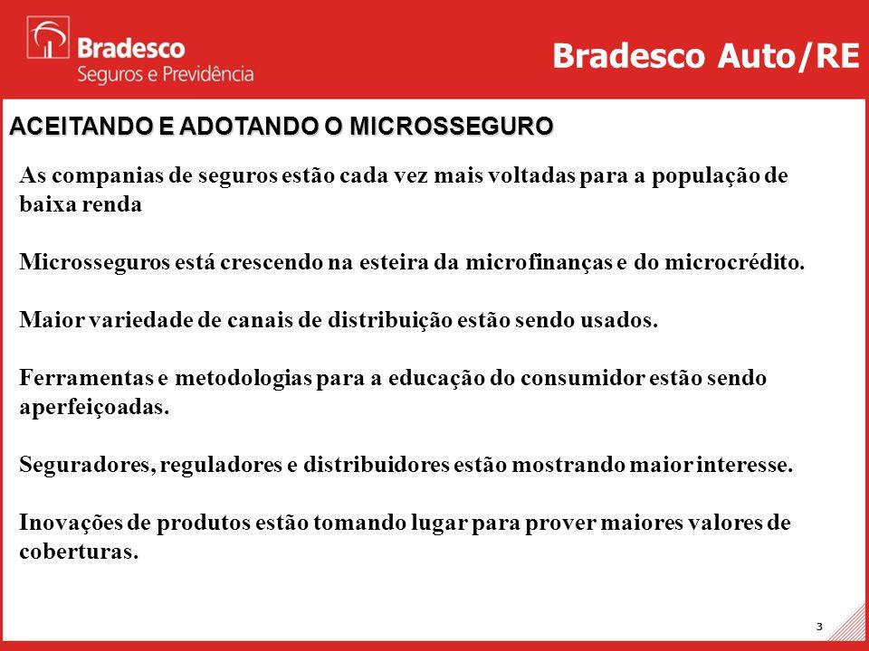 Bradesco Auto/RE ACEITANDO E ADOTANDO O MICROSSEGURO