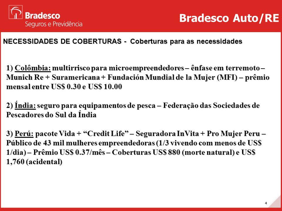 Bradesco Auto/RE NECESSIDADES DE COBERTURAS - Coberturas para as necessidades.