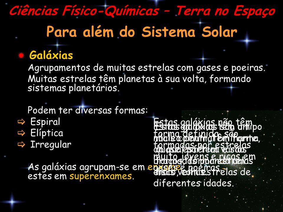 Para além do Sistema Solar