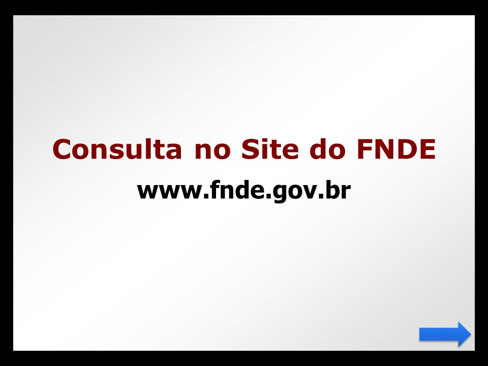 Consulta no Site do FNDE