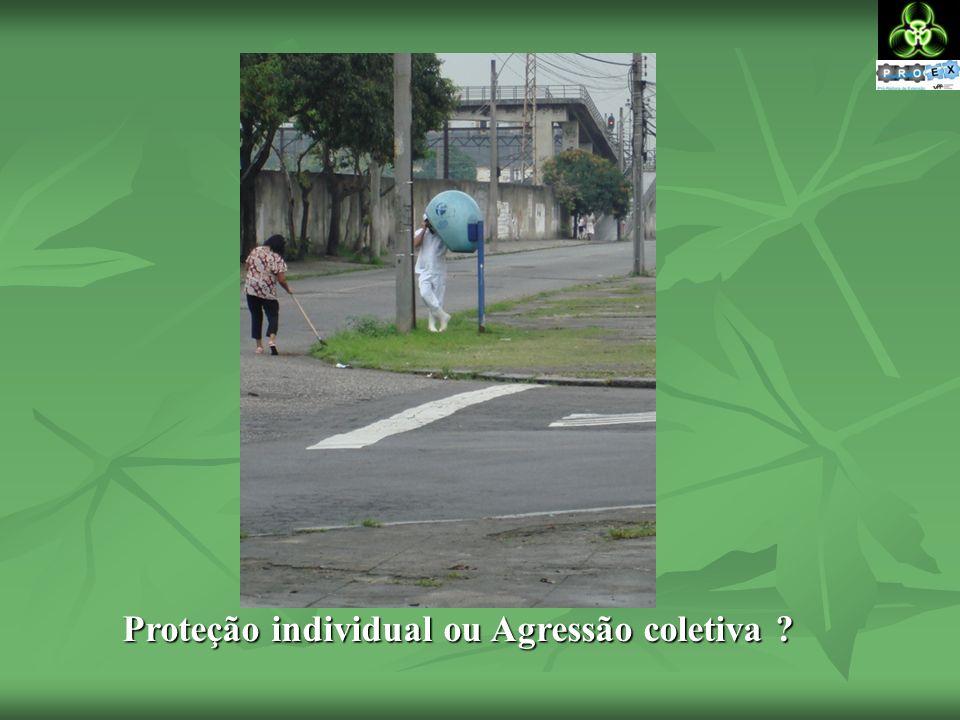 Proteção individual ou Agressão coletiva