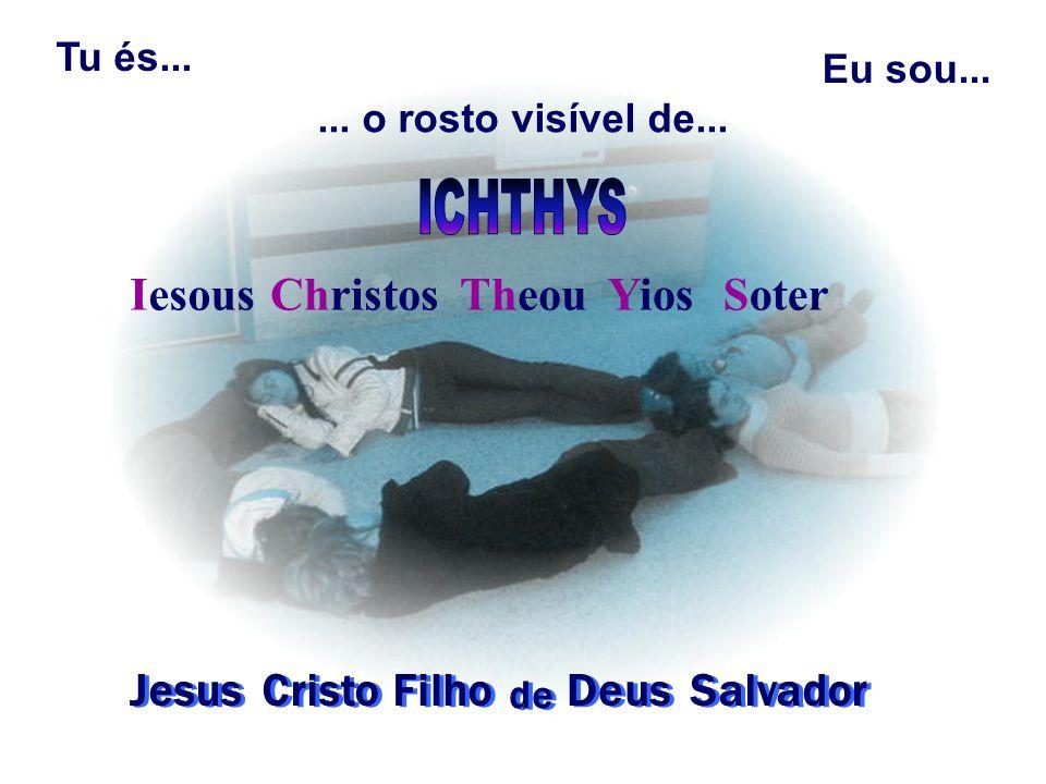 Iesous Christos Theou Yios Soter Jesus Cristo Filho Deus Salvador