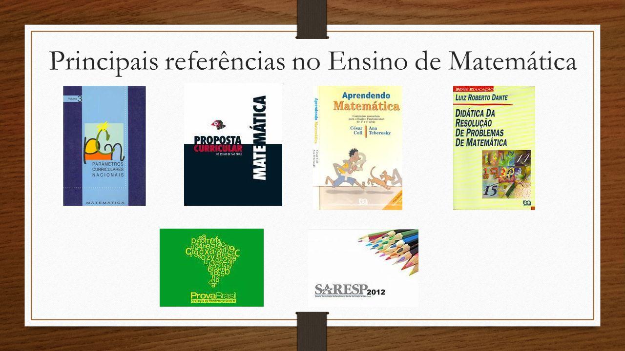 Principais referências no Ensino de Matemática