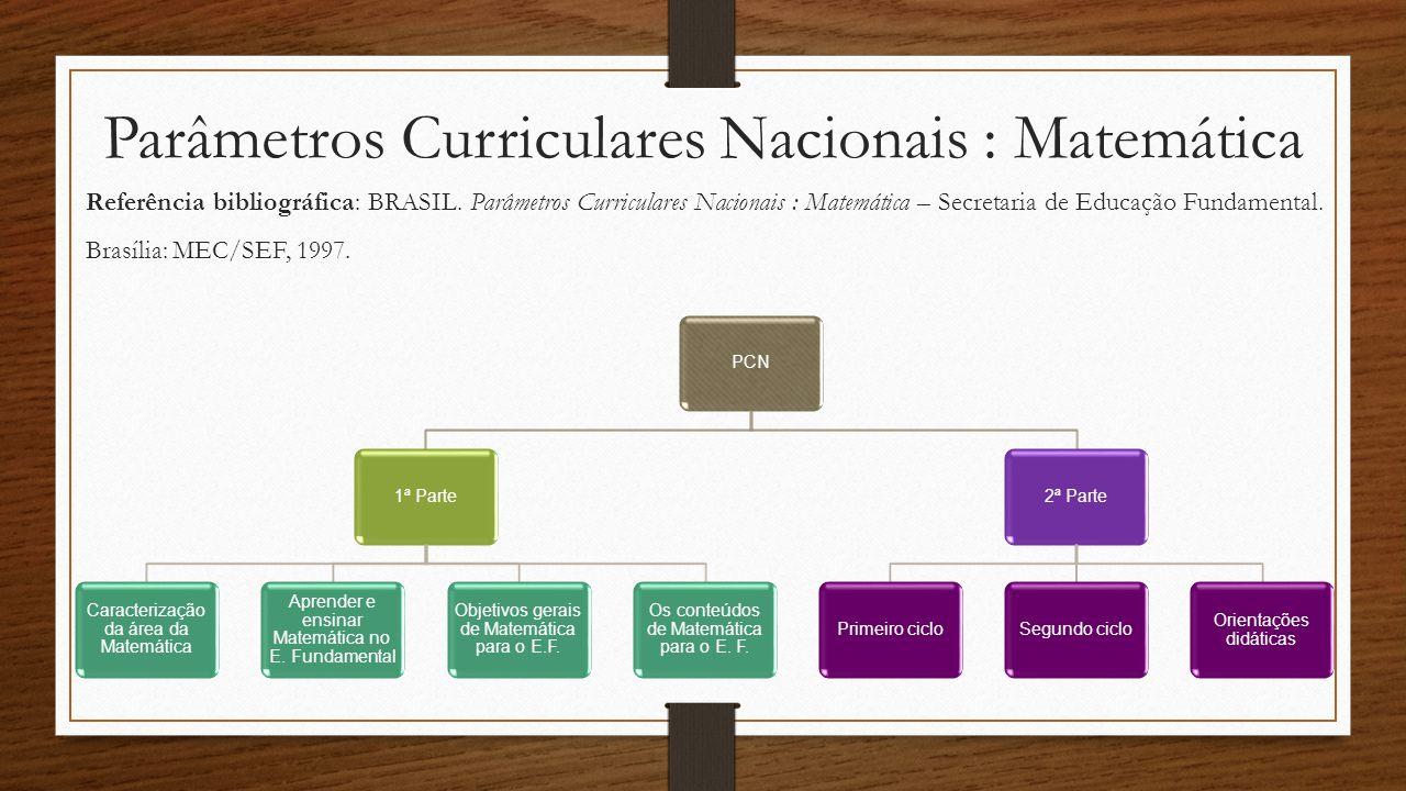 Parâmetros Curriculares Nacionais : Matemática
