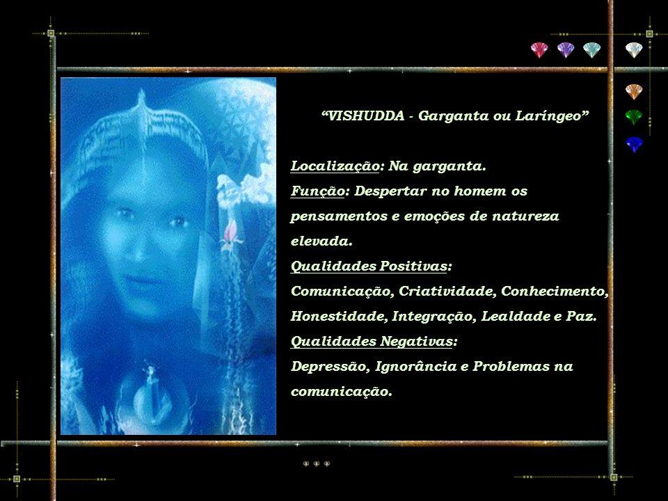 VISHUDDA - Garganta ou Laríngeo