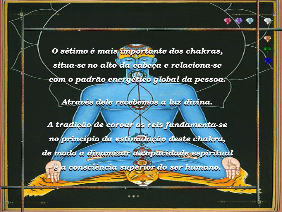 O sétimo é mais importante dos chakras,