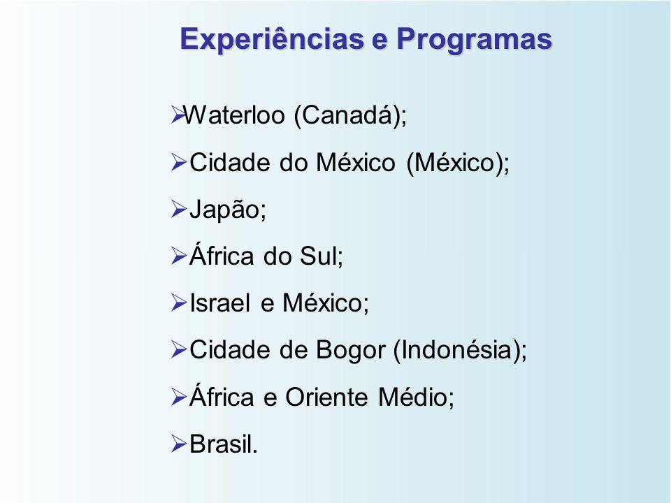 Experiências e Programas