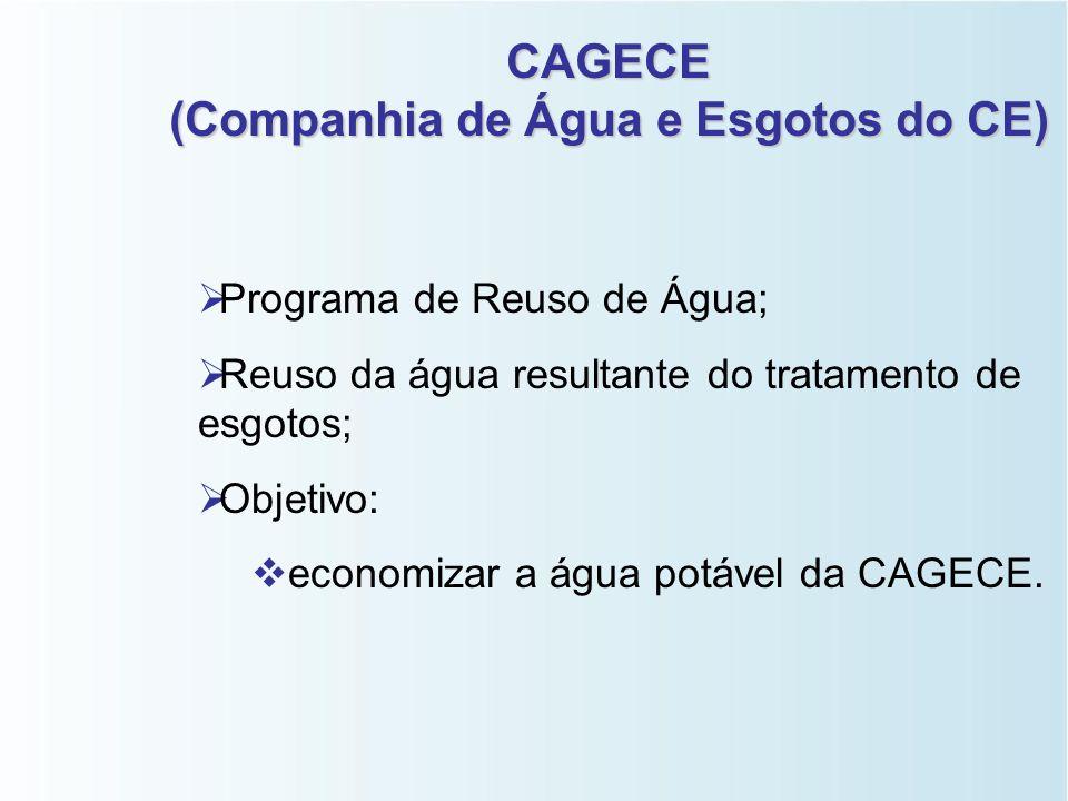 (Companhia de Água e Esgotos do CE)