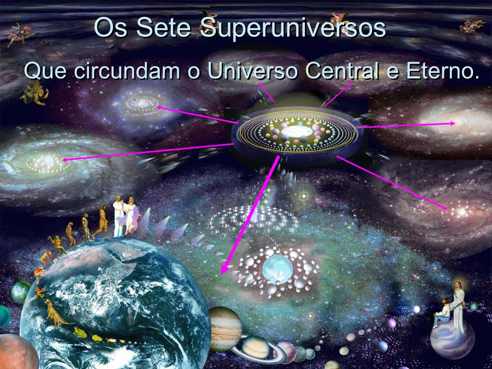 Os Sete Superuniversos