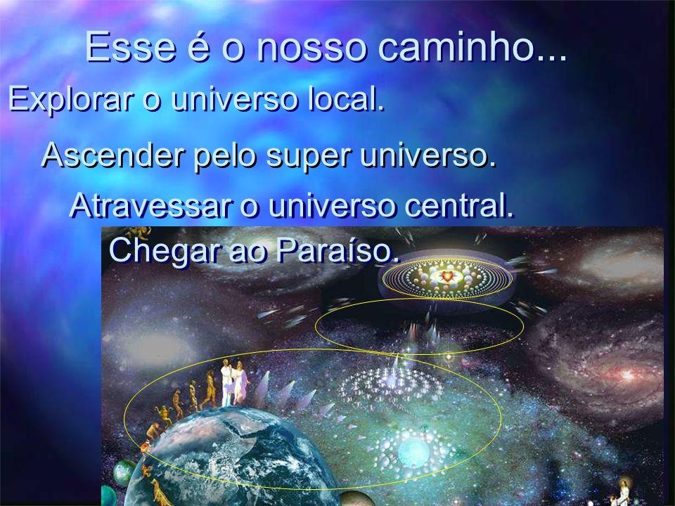 Esse é o nosso caminho... Explorar o universo local.