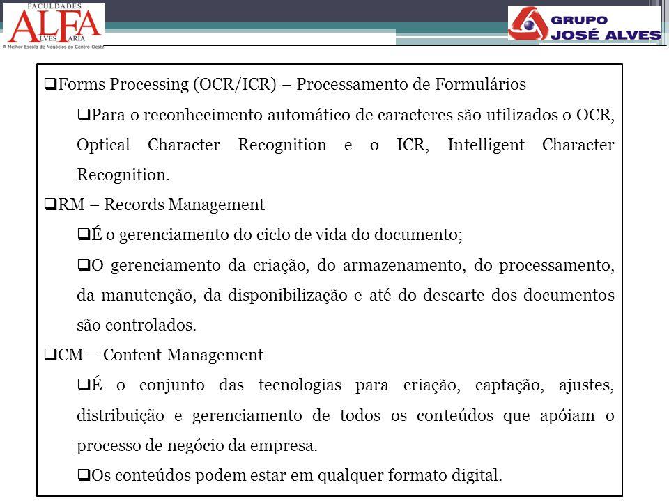 Forms Processing (OCR/ICR) – Processamento de Formulários