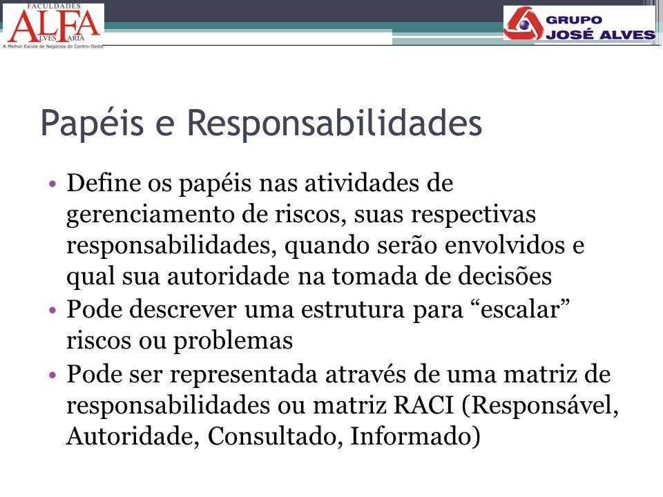 Papéis e Responsabilidades