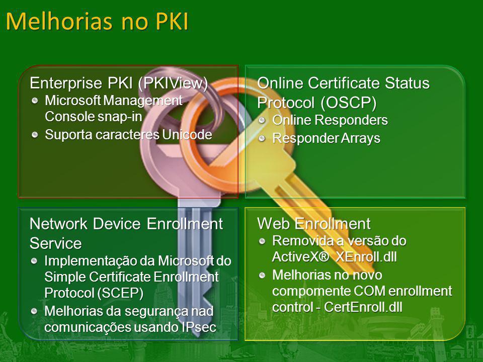 Melhorias no PKI Enterprise PKI (PKIView)
