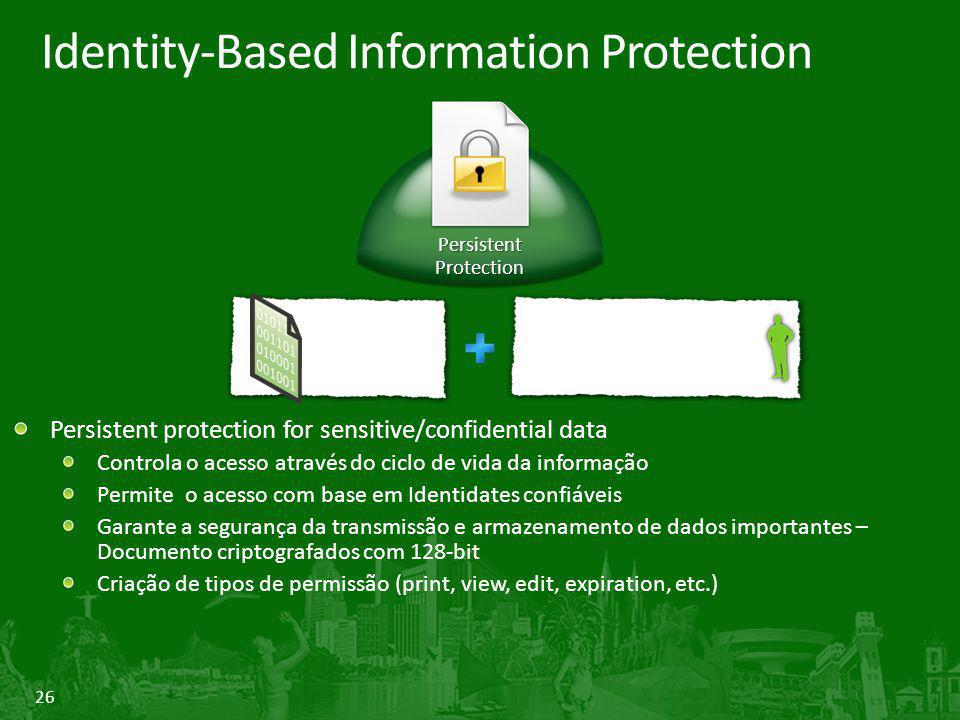 Identity-Based Information Protection