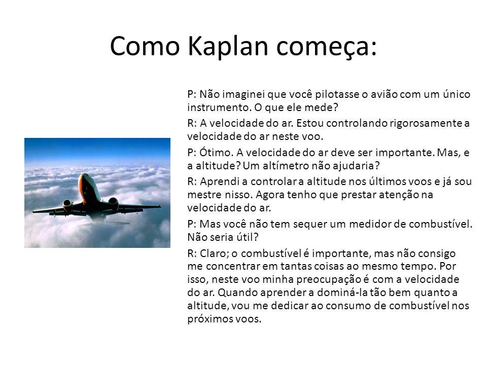Como Kaplan começa: