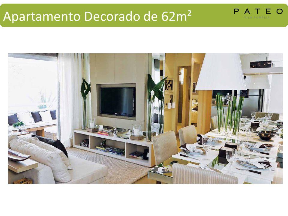 Apartamento Decorado de 62m²