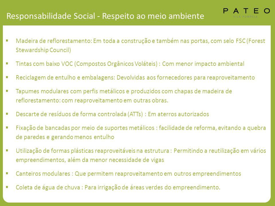 Responsabilidade Social - Respeito ao meio ambiente