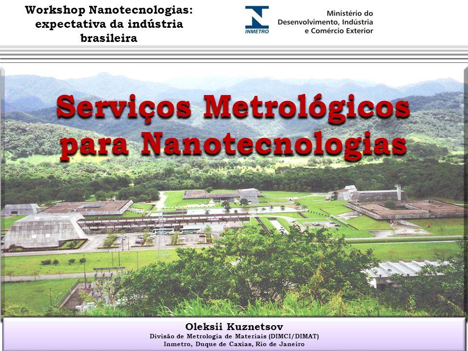 Serviços Metrológicos para Nanotecnologias