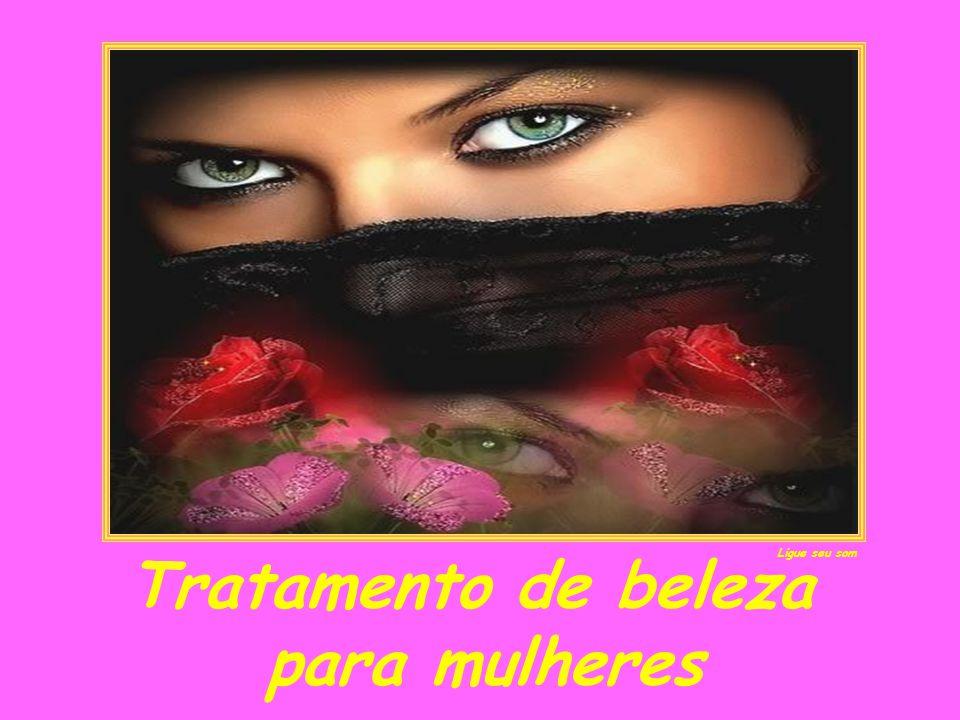 Tratamento de beleza para mulheres