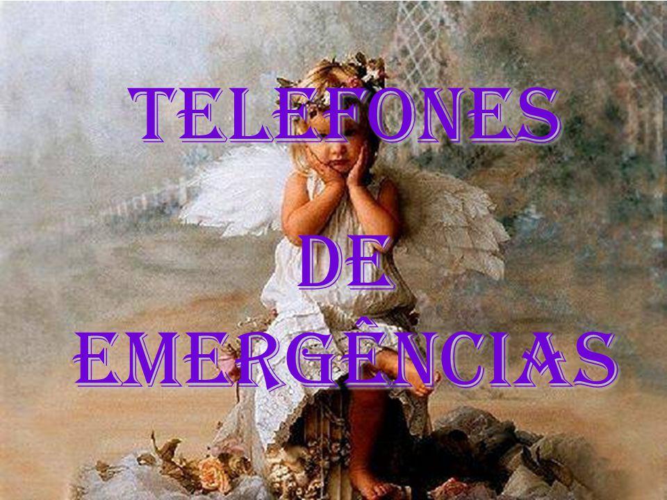 TELEFONES DE EMERGÊNCIAS