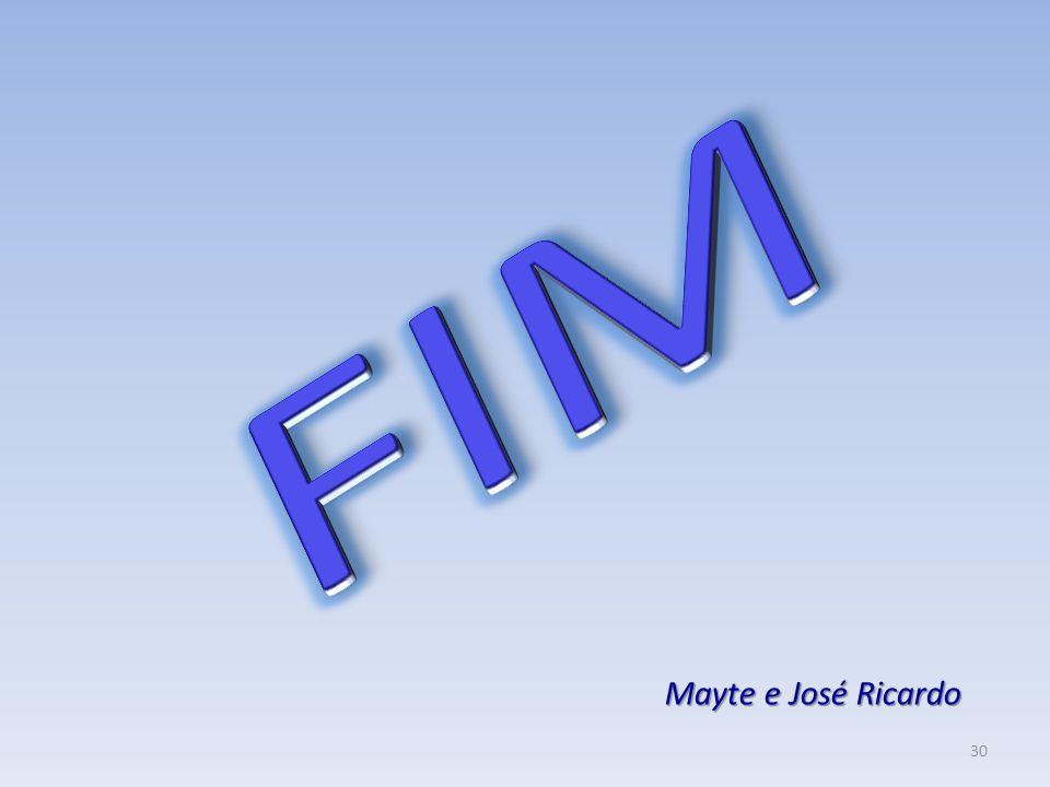 FIM Mayte e José Ricardo