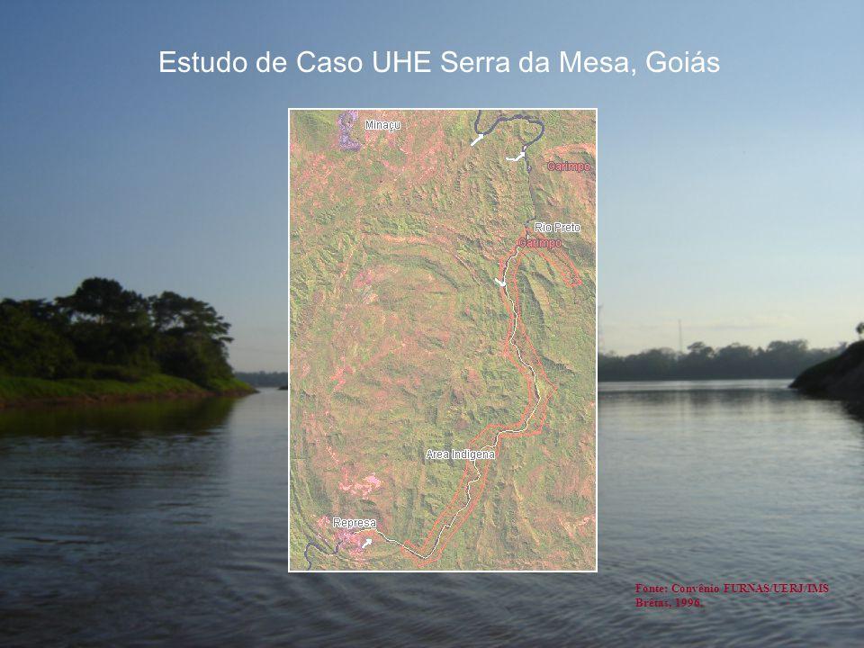 Estudo de Caso UHE Serra da Mesa, Goiás