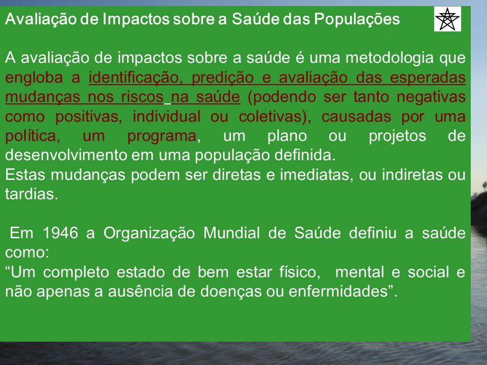Avaliação de Impactos sobre a Saúde das Populações