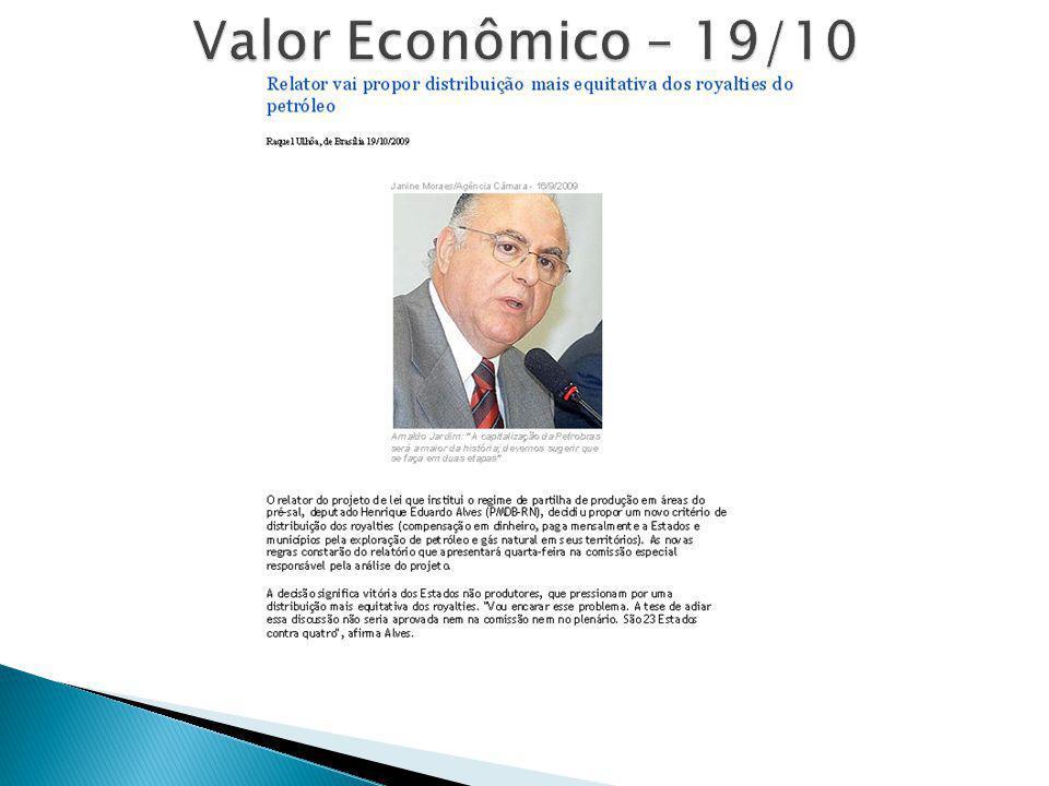 Valor Econômico – 19/10