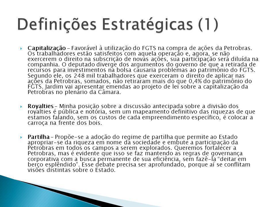 Definições Estratégicas (1)