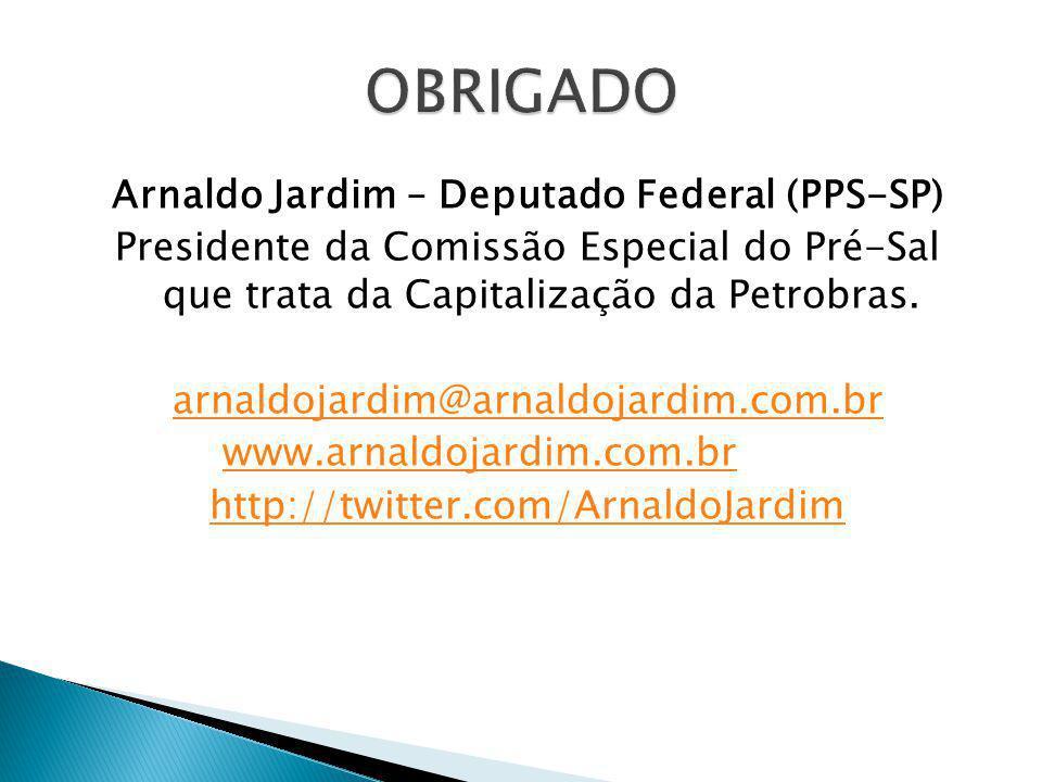 Arnaldo Jardim – Deputado Federal (PPS-SP)