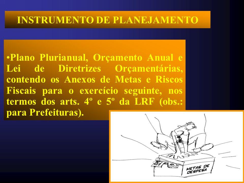 INSTRUMENTO DE PLANEJAMENTO