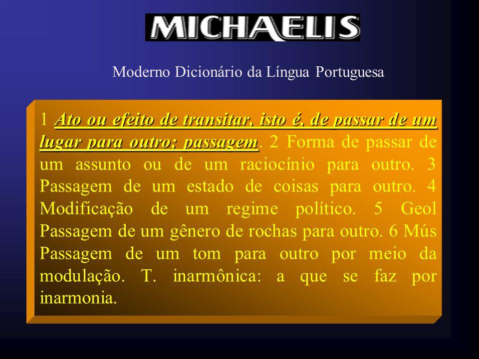 Moderno Dicionário da Língua Portuguesa