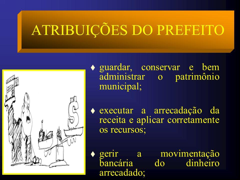 ATRIBUIÇÕES DO PREFEITO