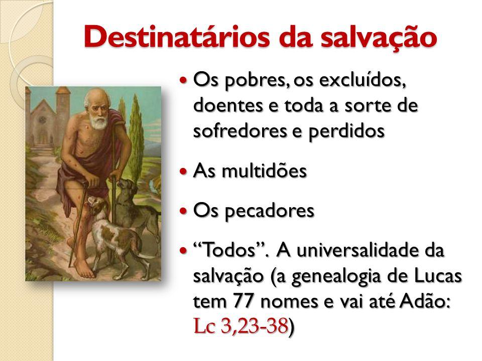 Destinatários da salvação