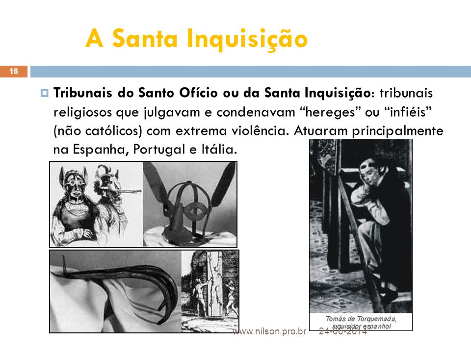 A Santa Inquisição