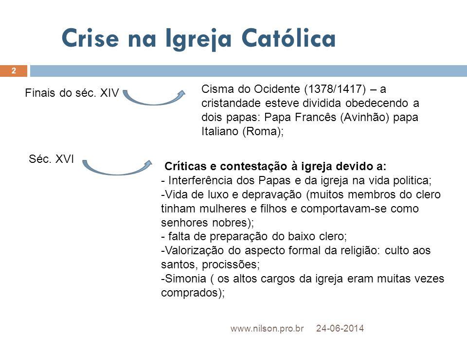 Crise na Igreja Católica