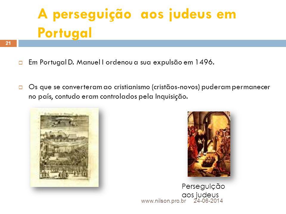 A perseguição aos judeus em Portugal