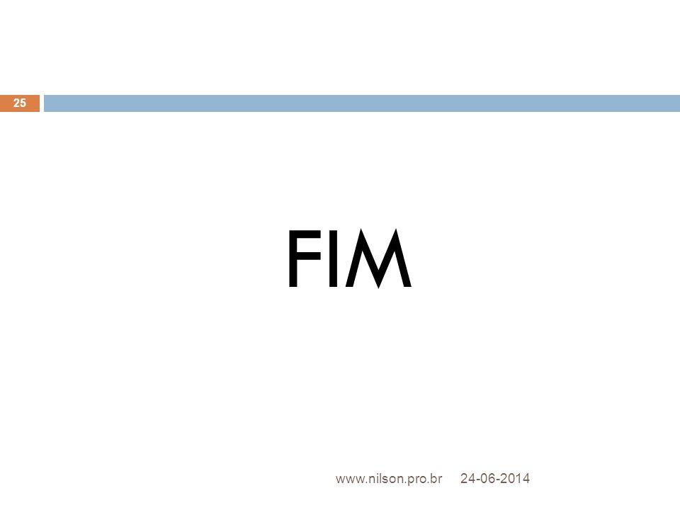 FIM www.nilson.pro.br 02-04-2017