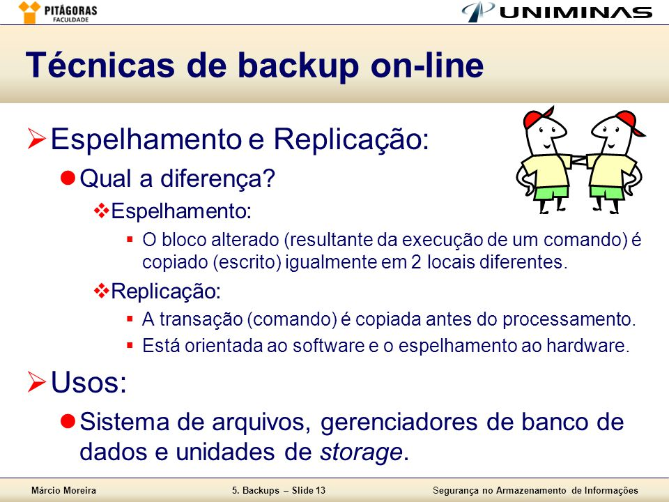 Técnicas de backup on-line
