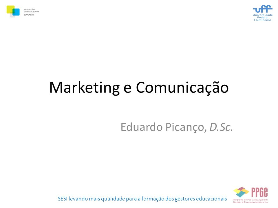 Marketing e Comunicação