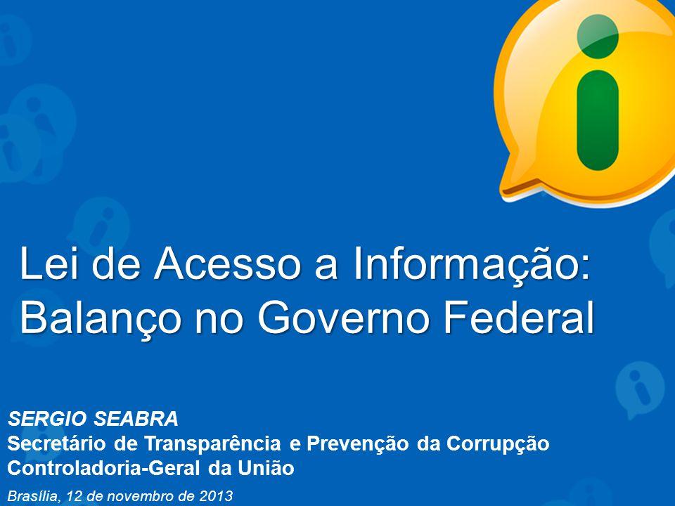 Lei de Acesso a Informação: Balanço no Governo Federal