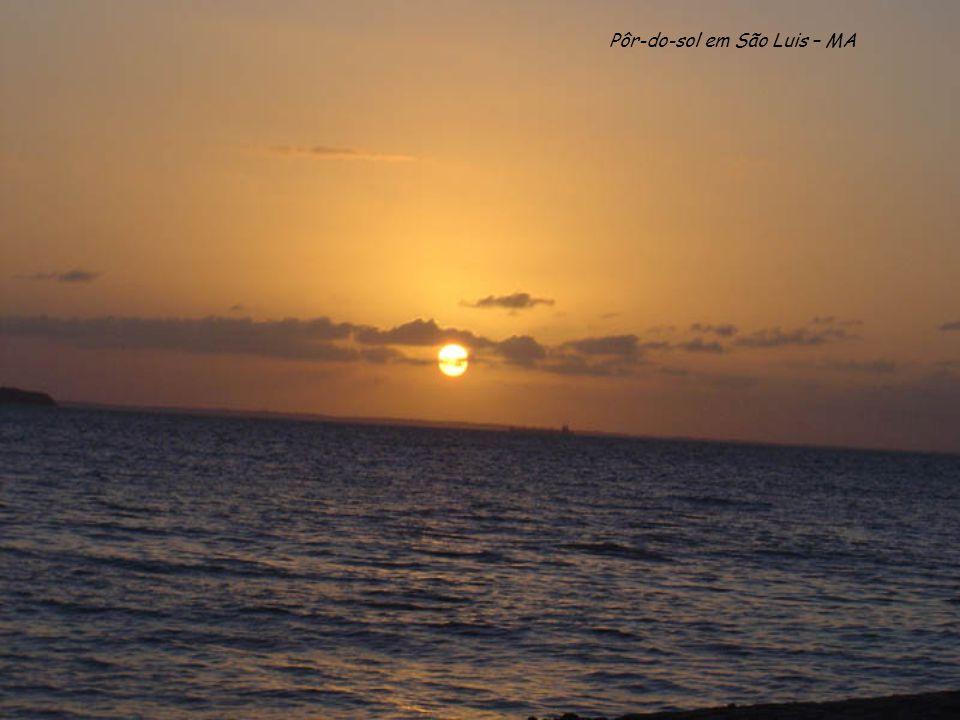 Pôr-do-sol em São Luis – MA