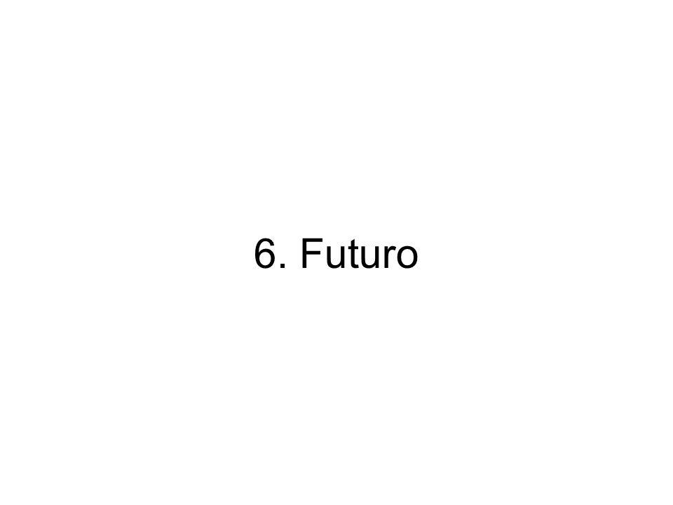 6. Futuro