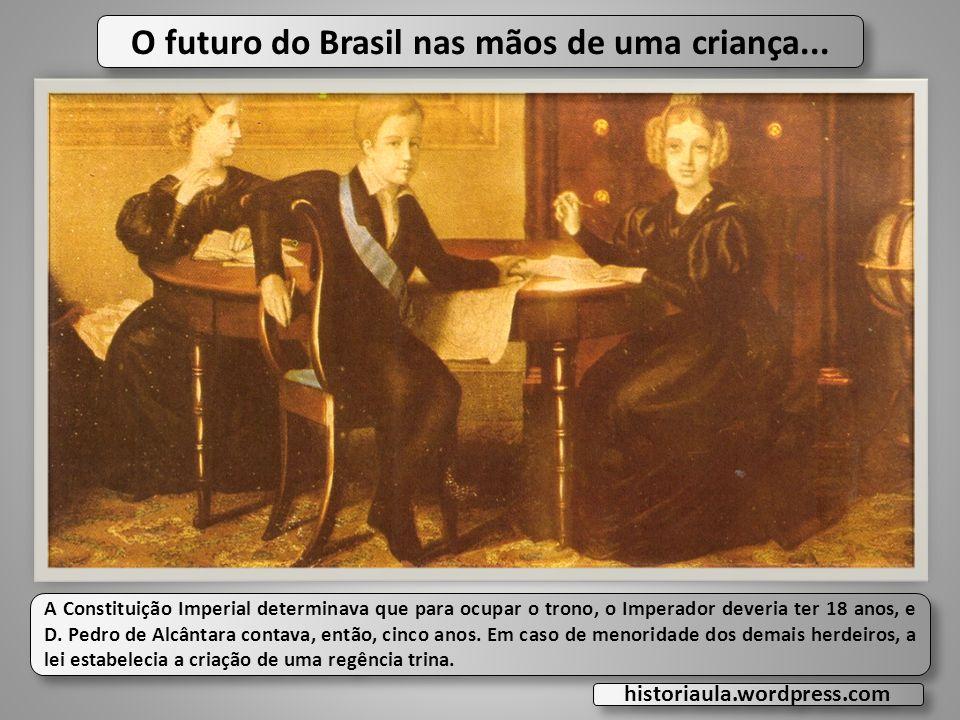 O futuro do Brasil nas mãos de uma criança...