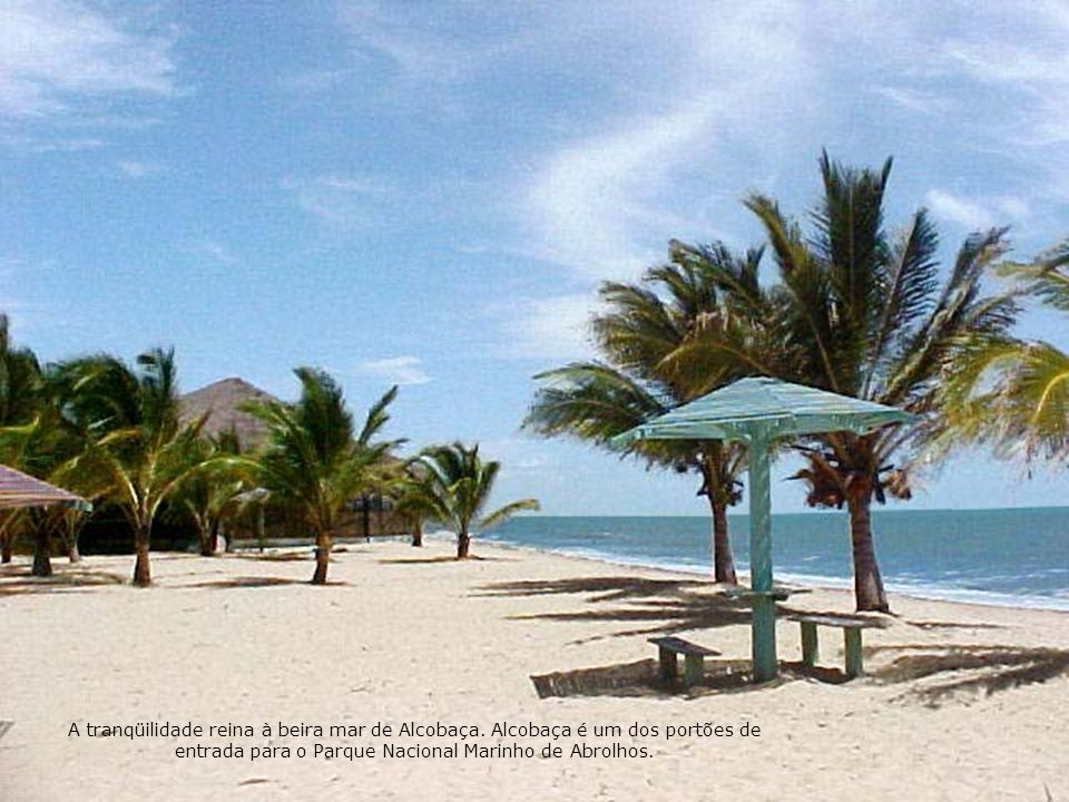 A tranqüilidade reina à beira mar de Alcobaça