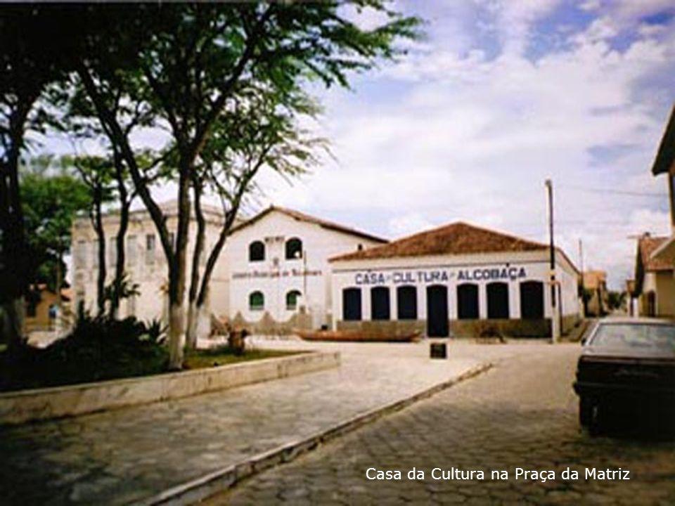 Casa da Cultura na Praça da Matriz