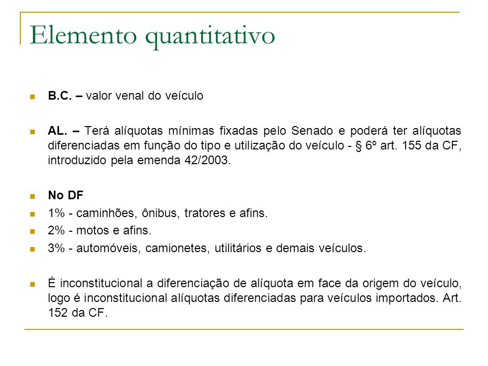 Elemento quantitativo