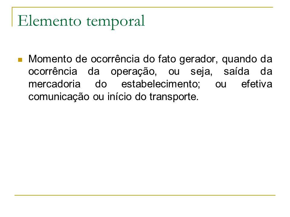 Elemento temporal