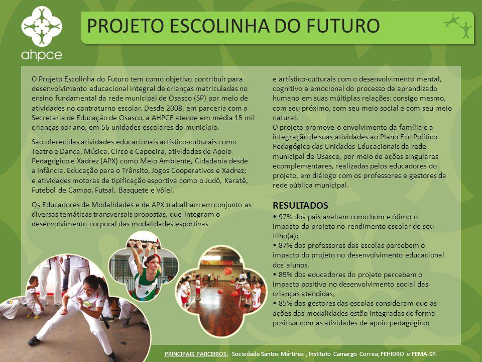 PROJETO ESCOLINHA DO FUTURO